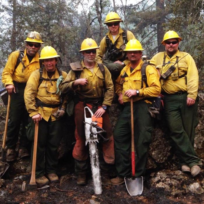 Inspector de incendios forestales