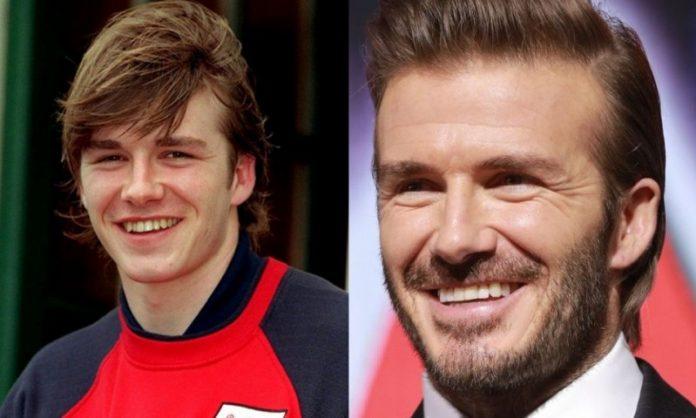 David Beckham; 13 Famosos que le deben su hermosa sonrisa al dentista