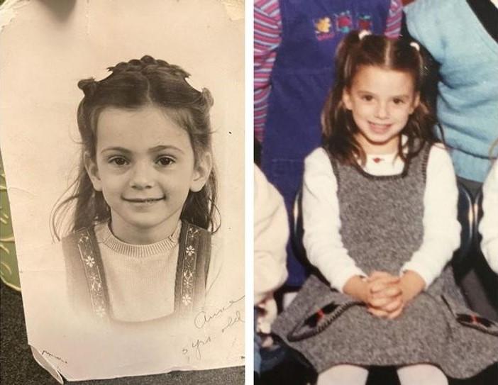 Madre e hija en la niñez; 15 Fotografías que te harán decir: '¿Cómo que no es la misma persona?'