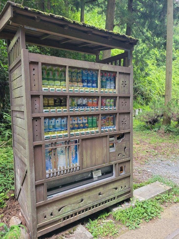 Máquina expendedora; 15 Fotos que demuestran que Japón es el país más kawaii del mundo