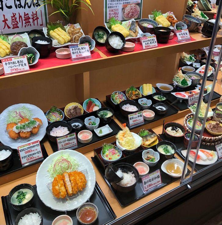 replicas de comida; 15 Fotos que demuestran que Japón es el país más kawaii del mundo