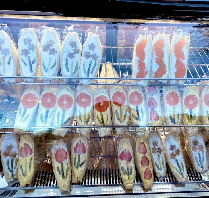 sándwich de frutas; 15 Fotos que demuestran que Japón es el país más kawaii del mundo