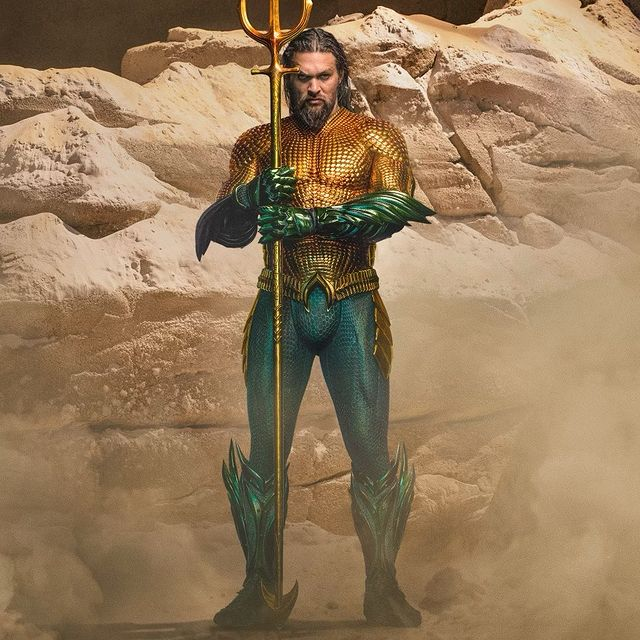 """Jason Momoa presentó su traje para la nueva """"Aquaman"""". Su trabajado cuerpo se vuelve a lucir"""