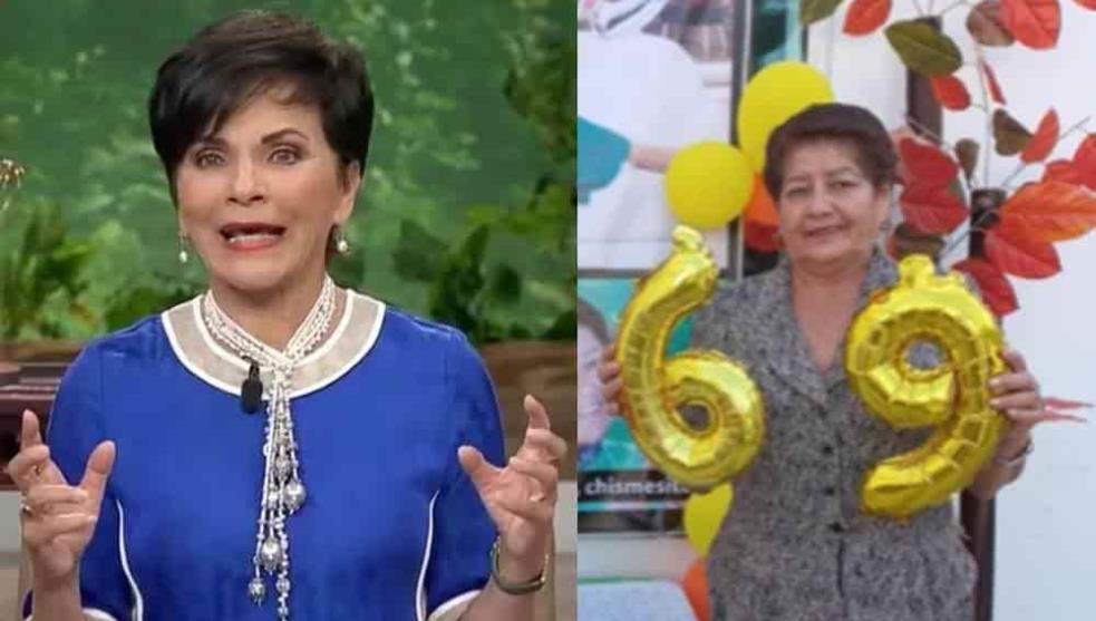 Abuelita celebra su cumpleaños al estilo de Pati Chapoy en 'Ventaneando'