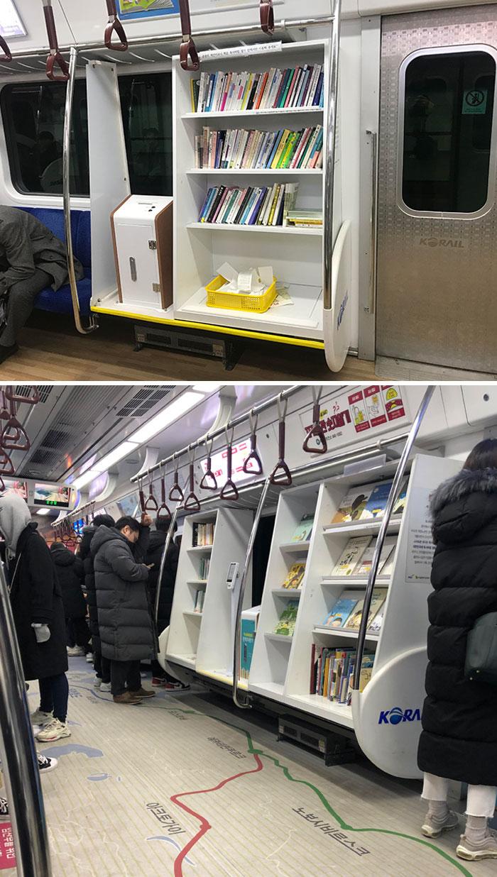 parada de metro; Corea es de otro mundo y estas fotos lo prueban
