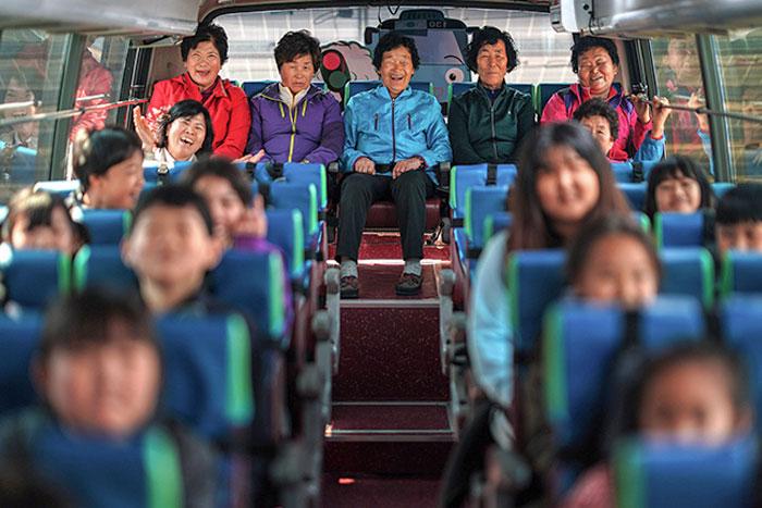 autobús; Corea es de otro mundo y estas fotos lo prueban