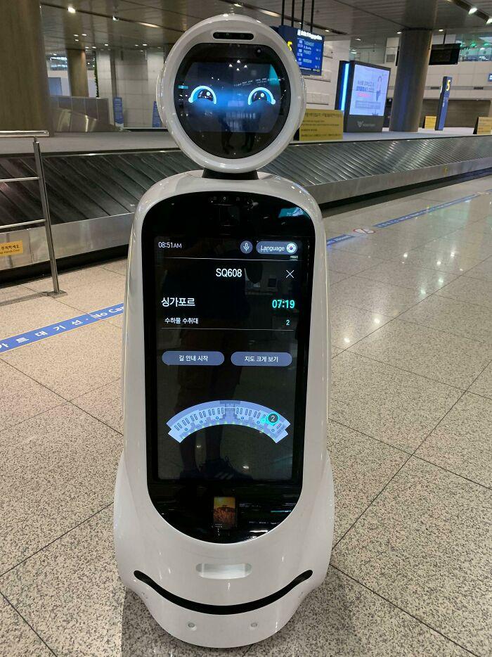 robot con agua; Corea es de otro mundo y estas fotos lo prueban