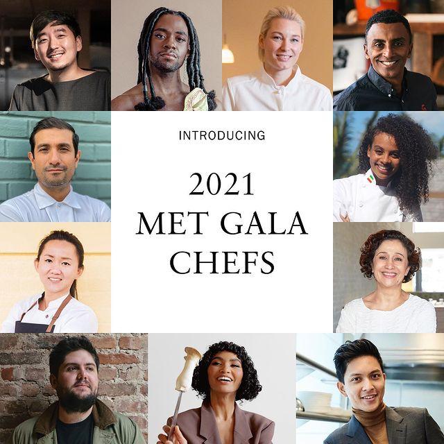 Chef de la Met Gala 2021