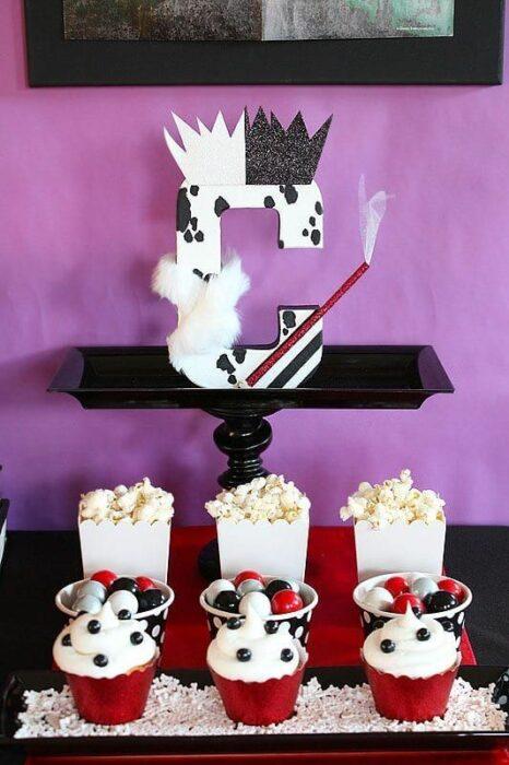 Ideas para fiesta temática de Cruella de Vil