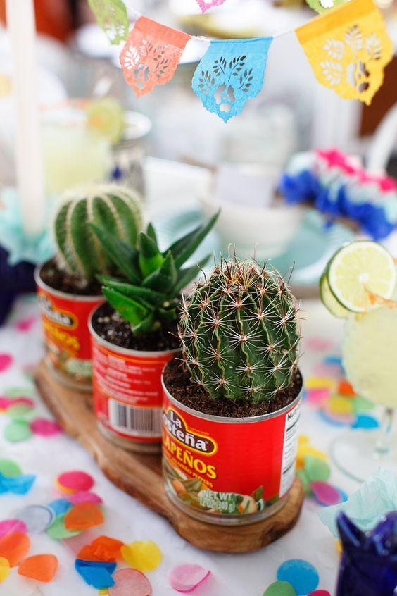 macetitas ;Ideas para una fiesta mexicana