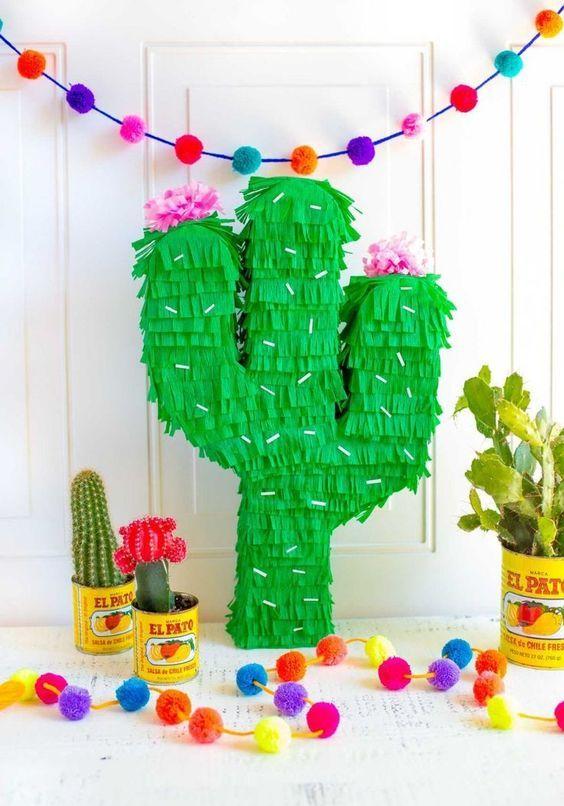 piñata ;Ideas para una fiesta mexicana