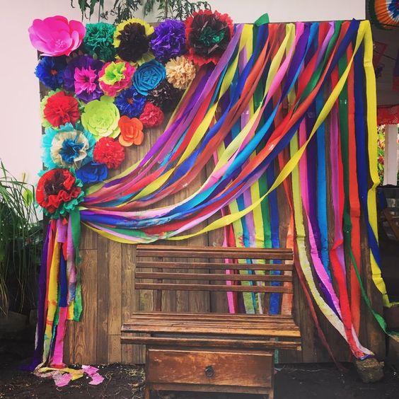 set de fotos ;19 Ideas para una fiesta mexicana colorida y con mucho sabor
