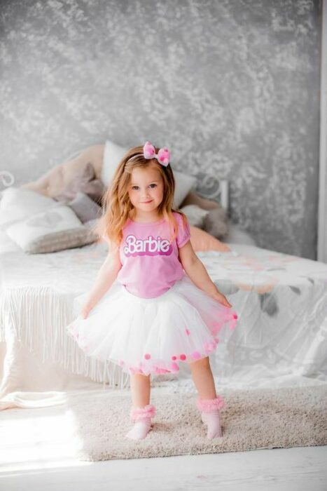 Ideas photoshot inspirado en Barbie (5)
