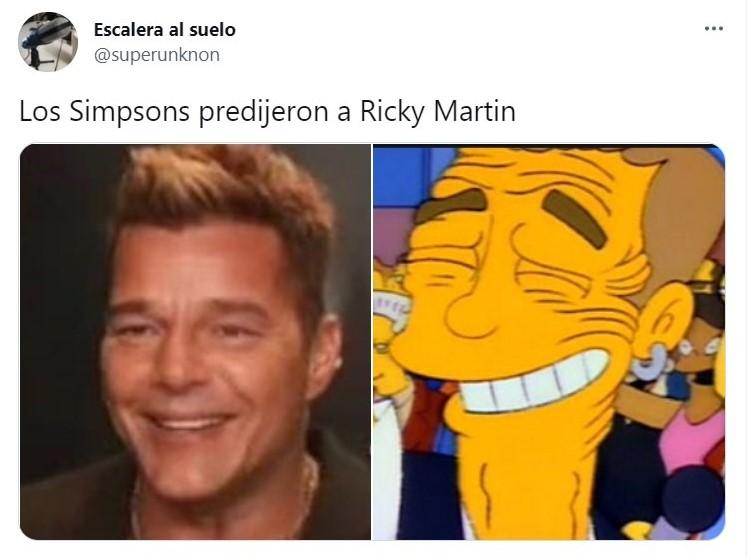 Tuit sobre la nueva apariencia de Ricky Martin; Ricky Martin se retocó la cara y desencadenó una oleada de memes