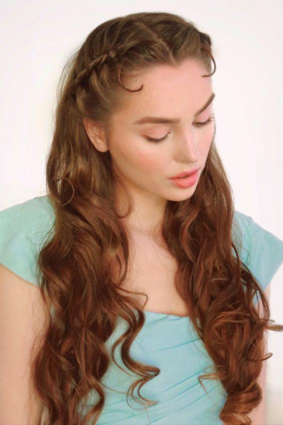 Peinado con ondas ;15 Peinados para ser la nueva Daphne Bridgerton