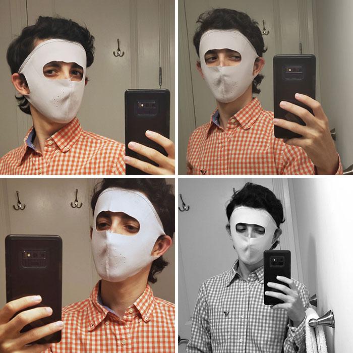 Mascaras faciales; 17 Abuelitos que tuvieron divertidos problemas con la tecnología