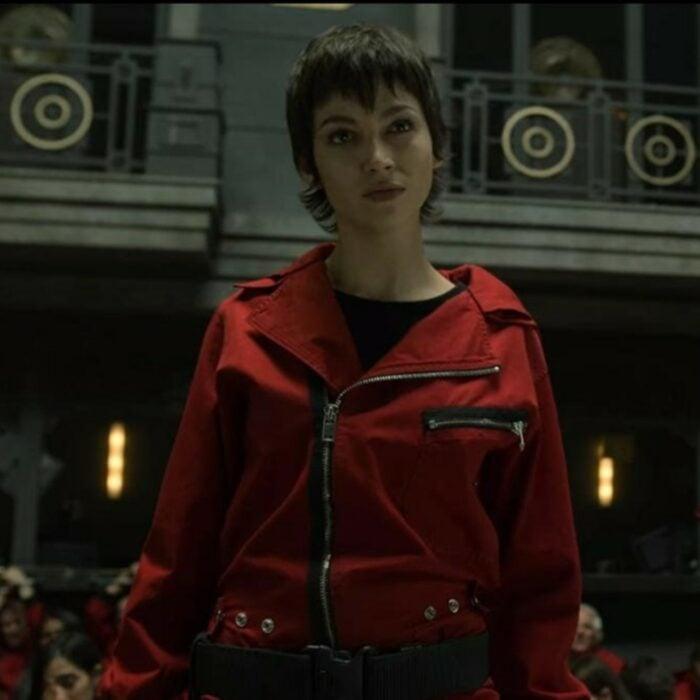 Úrsula Corberó interpretando a Tokio en 'La casa de papel'