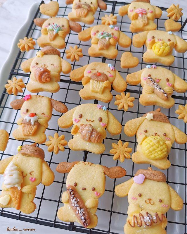 Galletas de mantequilla; Repostera japonesa crea postres tan 'kawaii' que no querrás comerlos