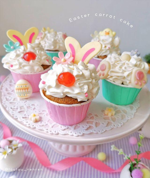 Muffins con crema; Repostera japonesa crea postres tan 'kawaii' que no querrás comerlos
