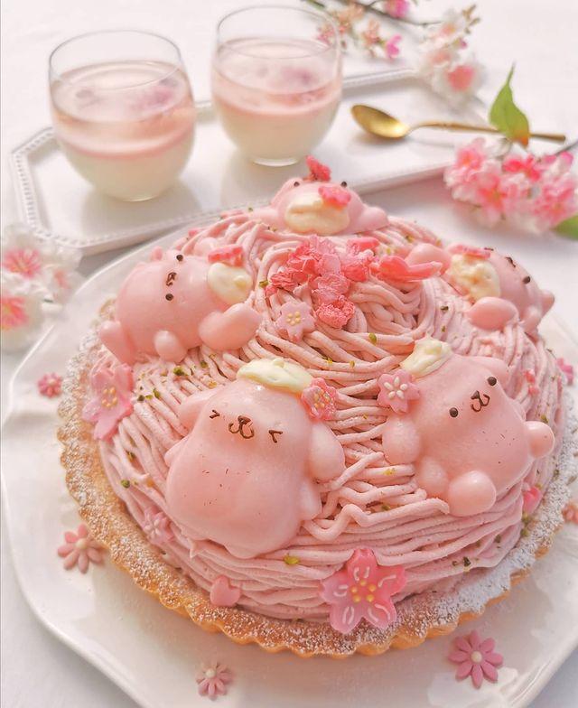 Pastel de fresas con crema; Repostera japonesa crea postres tan 'kawaii' que no querrás comerlos