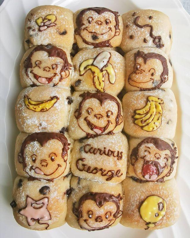 Colchón de plátano; Repostera japonesa crea postres tan 'kawaii' que no querrás comerlos
