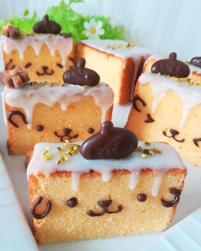 Barra de pan; Repostera japonesa crea postres tan 'kawaii' que no querrás comerlos