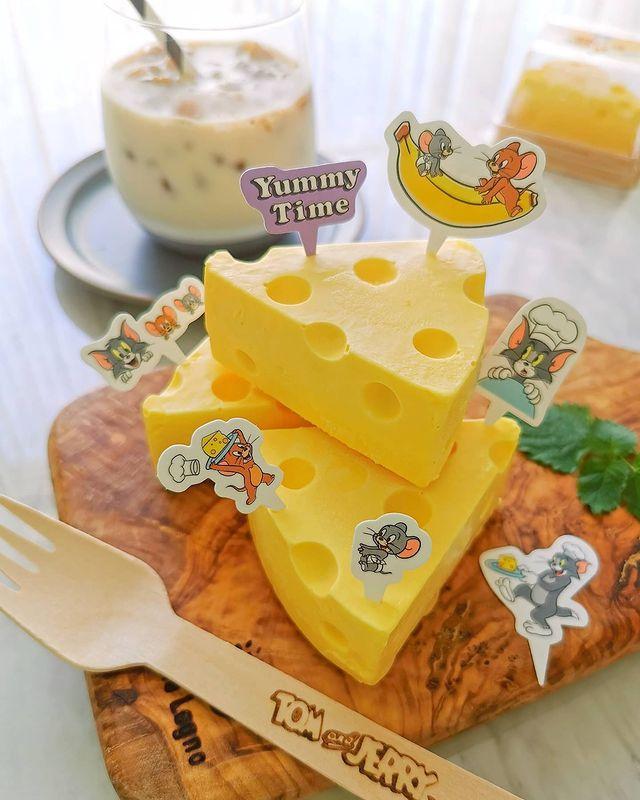 Pastel de queso; Repostera japonesa crea postres tan 'kawaii' que no querrás comerlos