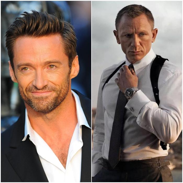 Hugh Jackman como James Bond