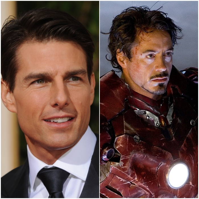 Tom Cruise como Iron Man