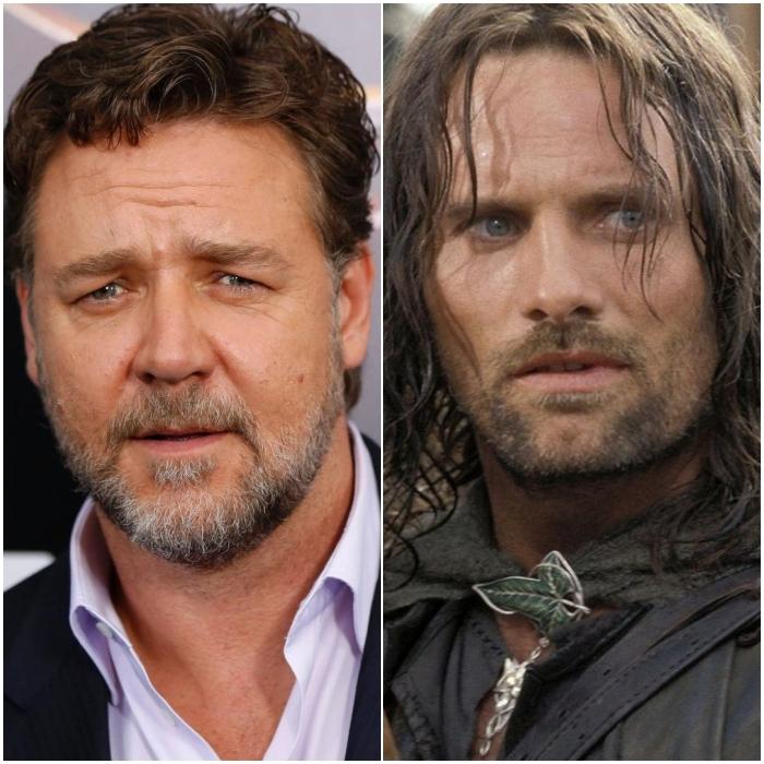 Russell Crowe como Aragorn