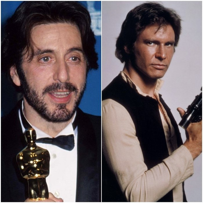 Al Pacino como Han Solo