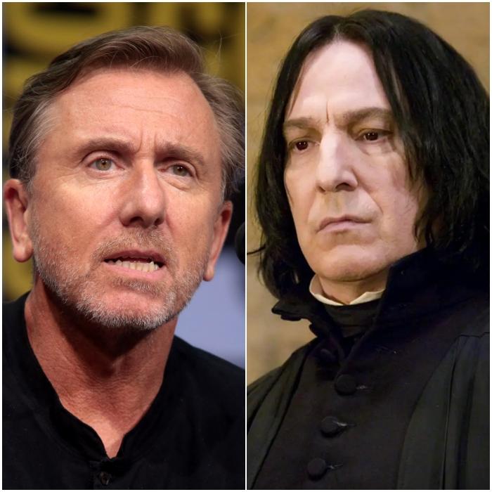 Tim Roth como Severus Snape
