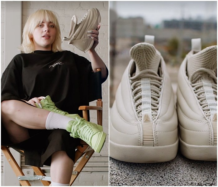 línea de tenis Nike Jordan diseñados por Billie Eilish