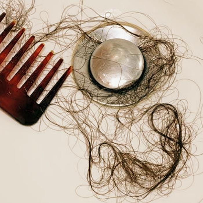 La cantidad de cabello que tenemos