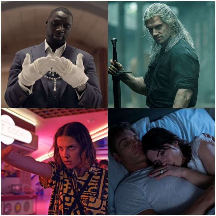 'lupin', 'the witcher', 'stranger things', 'sex/life'