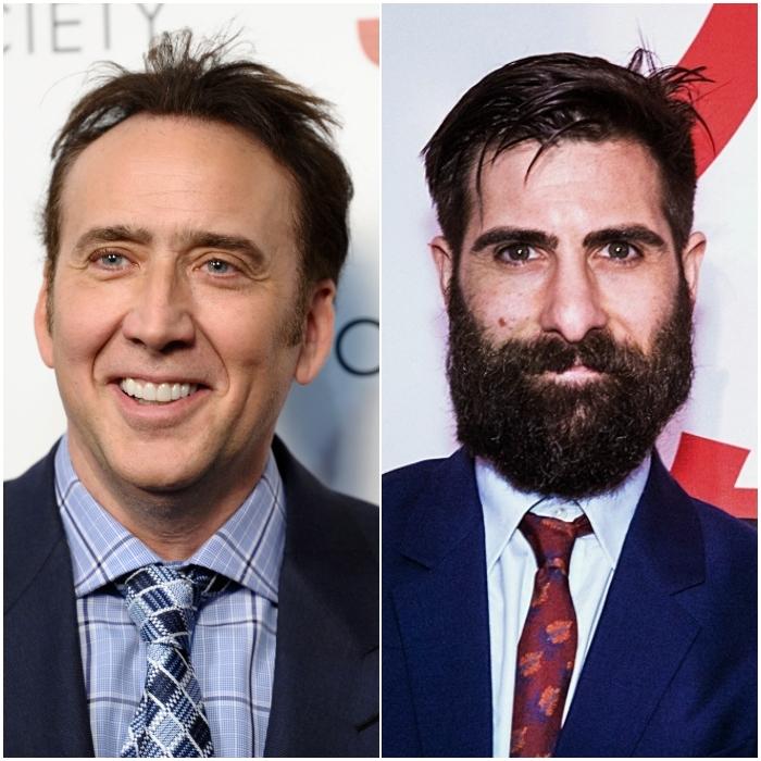 Nicolas Cage y Jason Schwartzman