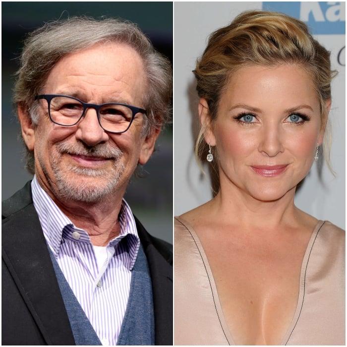 Steven Spielberg y Jessica Capshaw