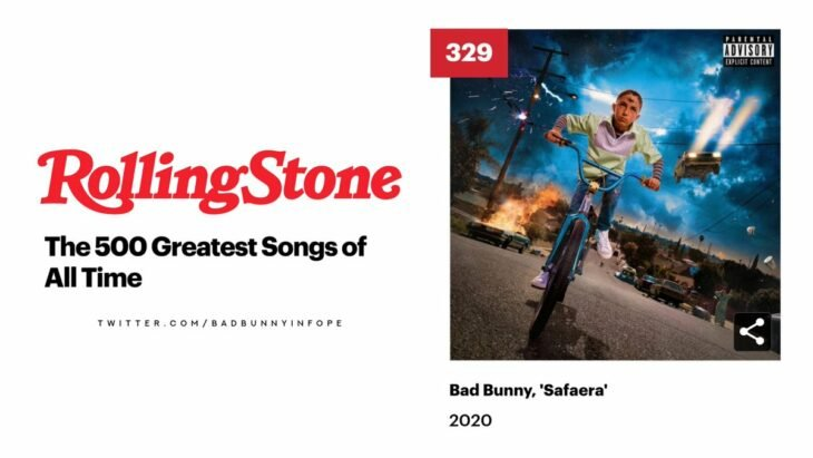 Rolling Stone 500 mejores canciones historia
