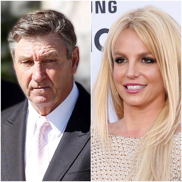 James Spears y Britney Spears