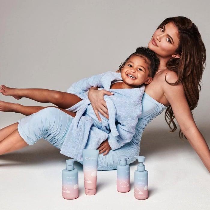 Kylie Jenner y Stormi Webber