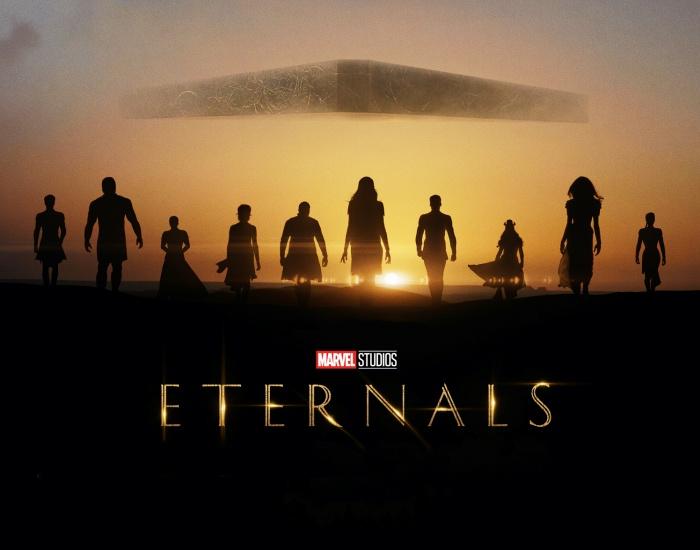 poster de película 'Eternals'