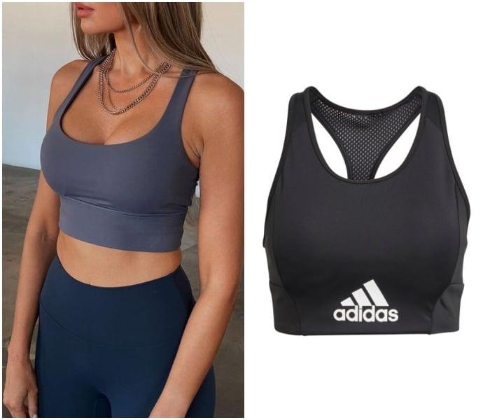 brasier deportivo, sujetador deportivo marca Adidas de Liverpool