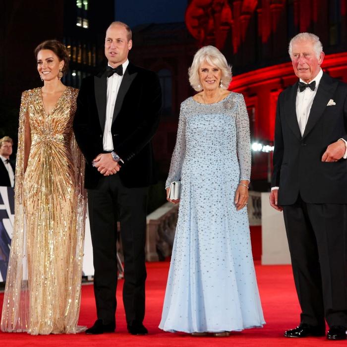 Kate Middleton, Príncipe William, Camilla Parker-Bowles y Príncipe Carlos
