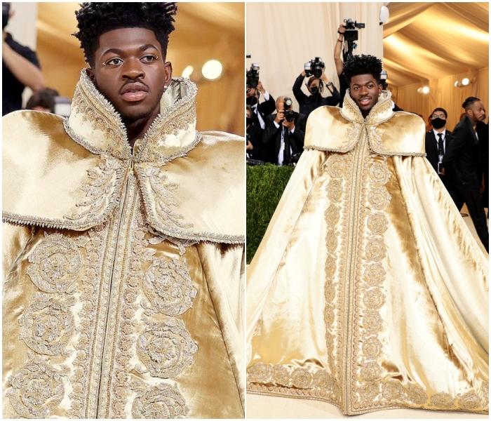 Lil Nas X en Versace