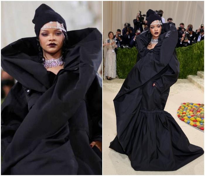 Rihanna en Balenciaga