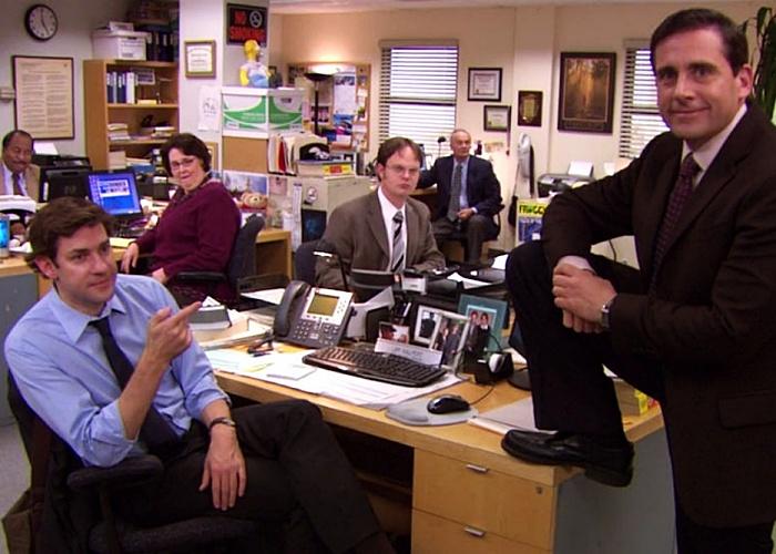 escenas y reparto de The Office