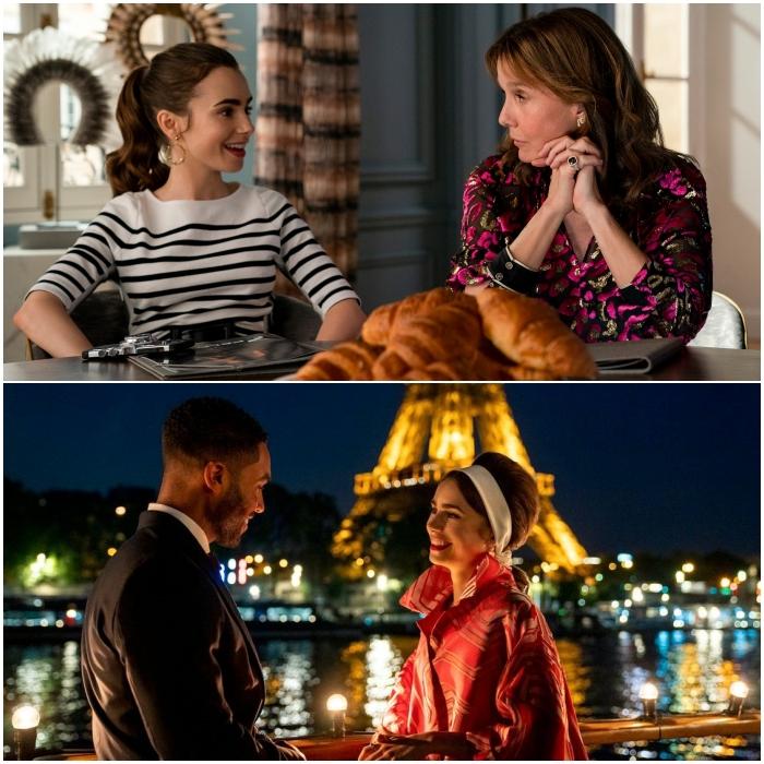 Emily In Paris escenas de la segunda temporada
