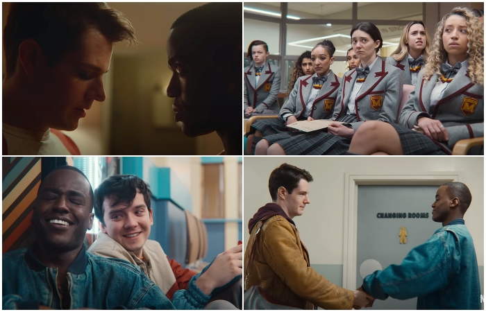 escenas de tercer temporada de 'Sex Education'