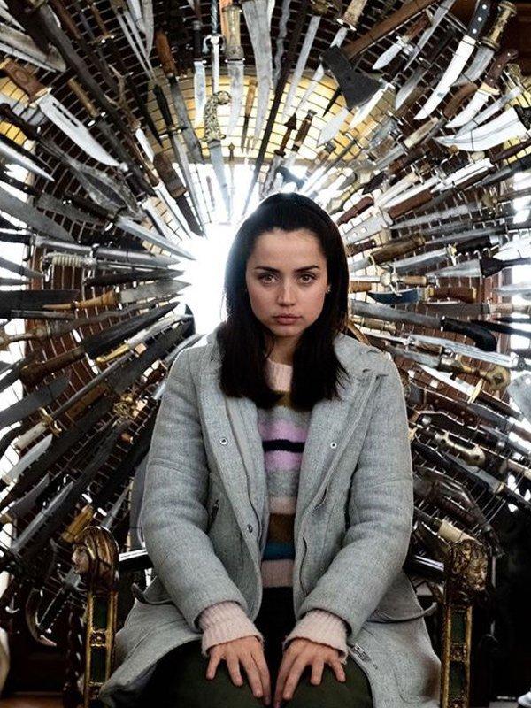 Ana de Armas como Marta Cabrera ;13 Actores que encajaron perfecto con un papel y otros que no tanto