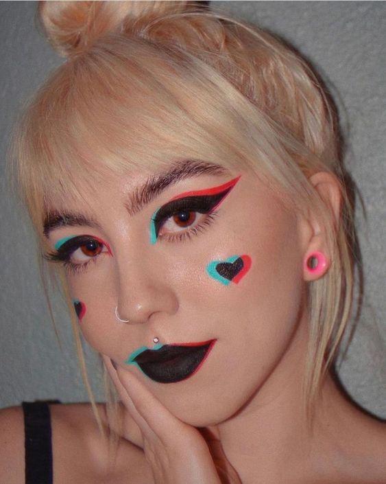 maquillaje TikTok ;15 Maquillajes para olvidarte del clásico disfraz brujita y llenarte de color